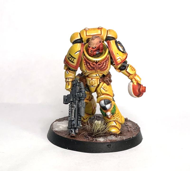 Imperial Fists Lieutenant Credit: Richyp