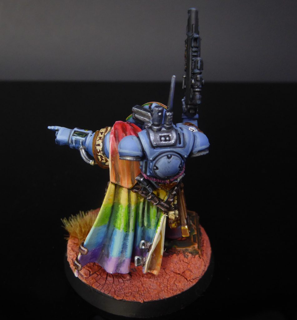 Rainbow Warriors Phobos Captain Rear