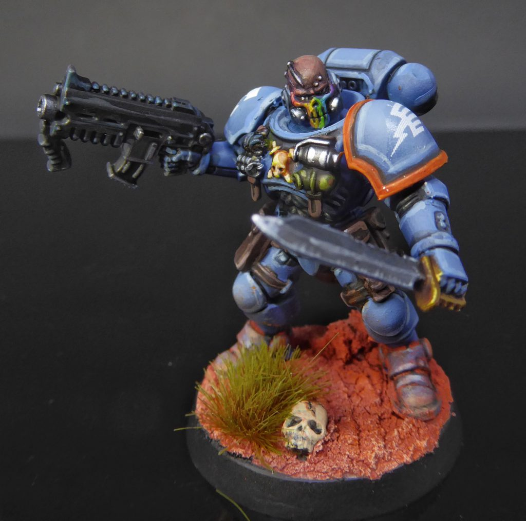 Rainbow Warriors Reiver Sergeant
