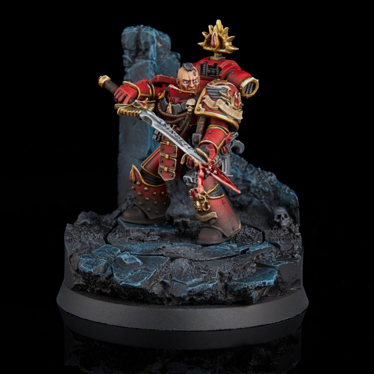 Blood Angels First Captain Raldoron