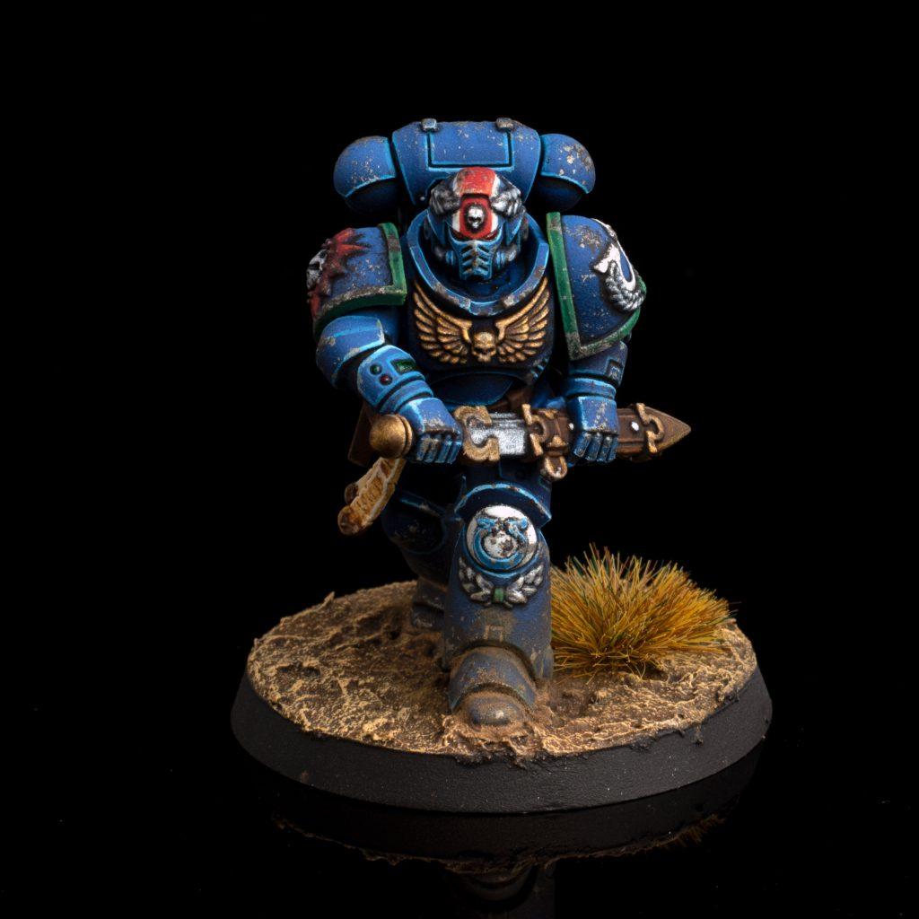 Ultramarines 4th Company Primaris Lieutenant
