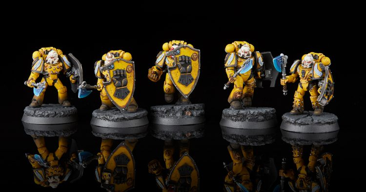 Imperial Fists Phalanx Warders