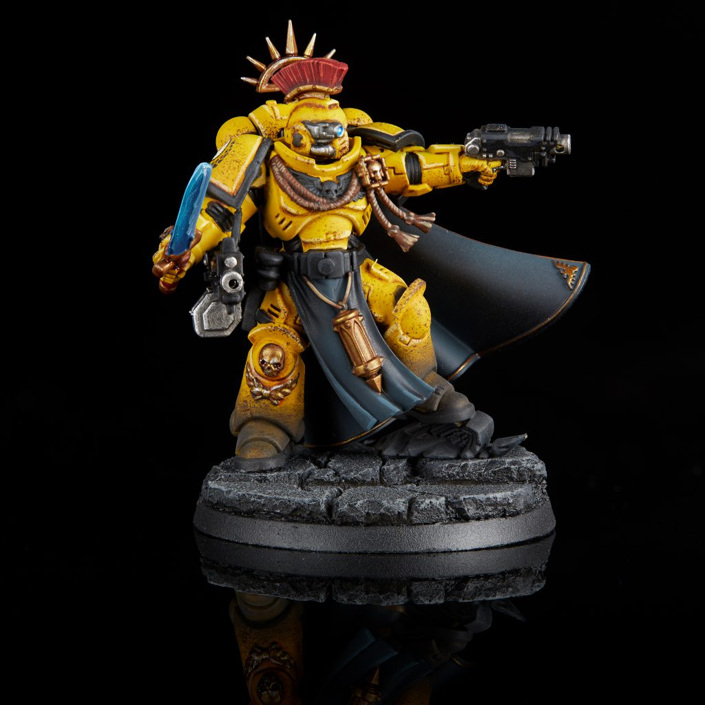 Imperial Fists Primaris Captain with Power Sword