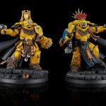 Imperial Fists Primaris Captains