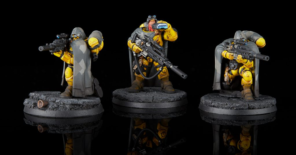 Imperial Fists Primaris Eliminator Squad