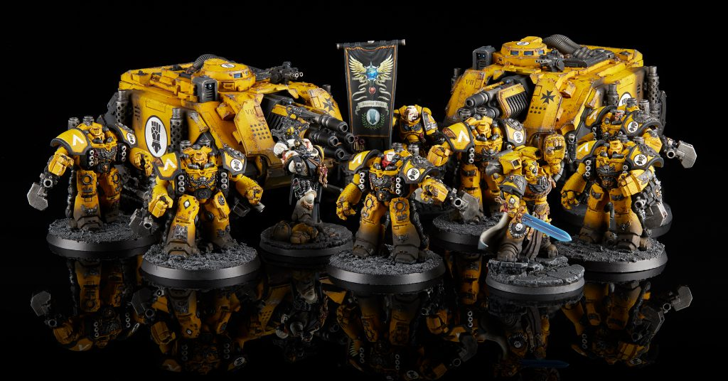 Imperial Fists Siegebreaker Cohort