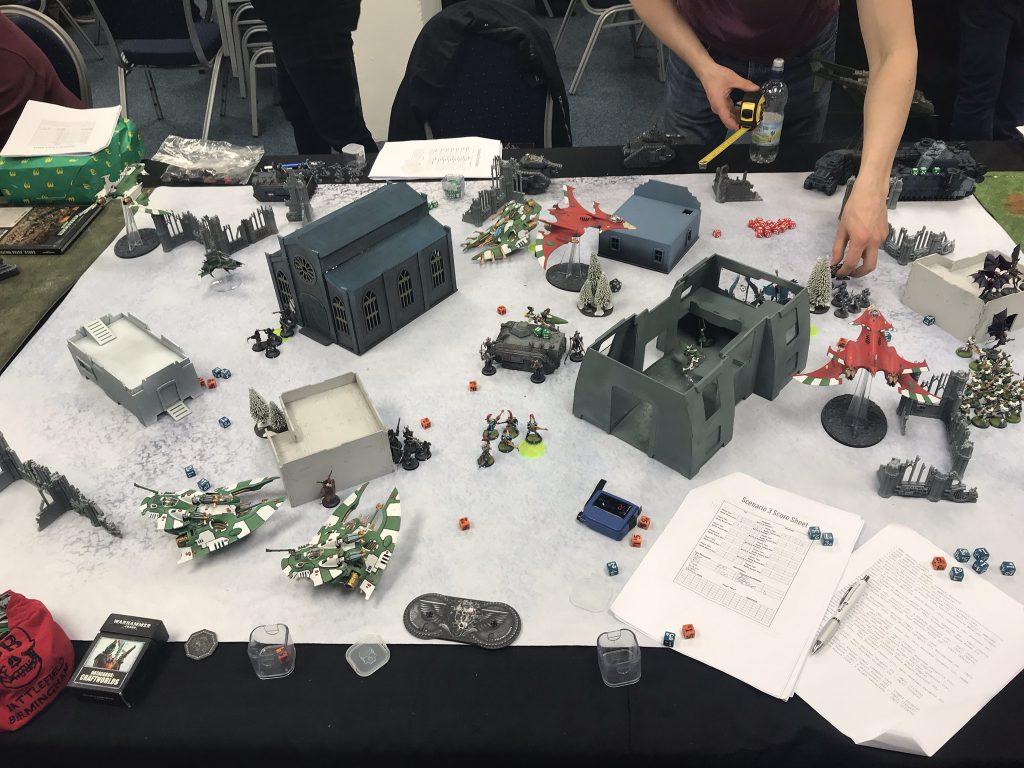 An ITC game in full swing