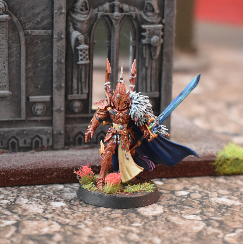 The Visarch standing in ruins