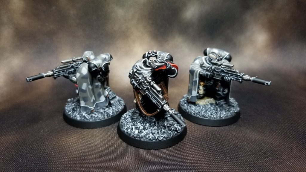 Raven Guard Primaris Eliminators
