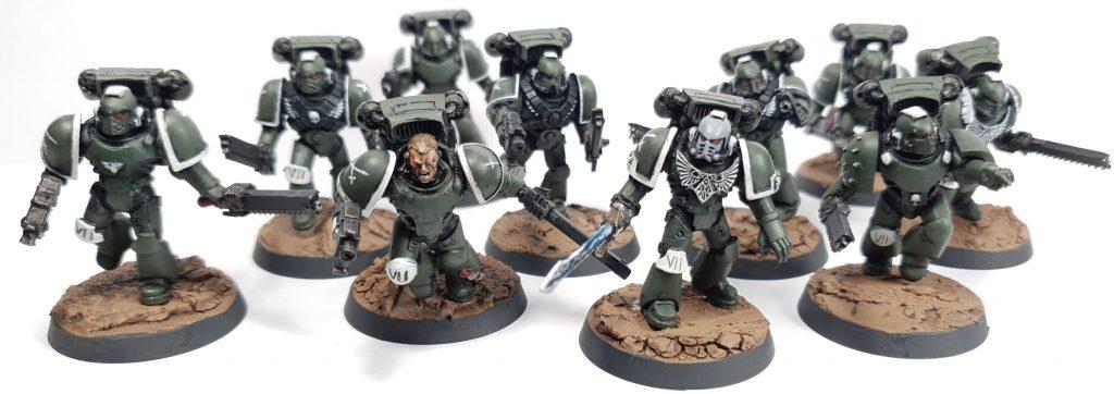 Space Marine Assault Marines