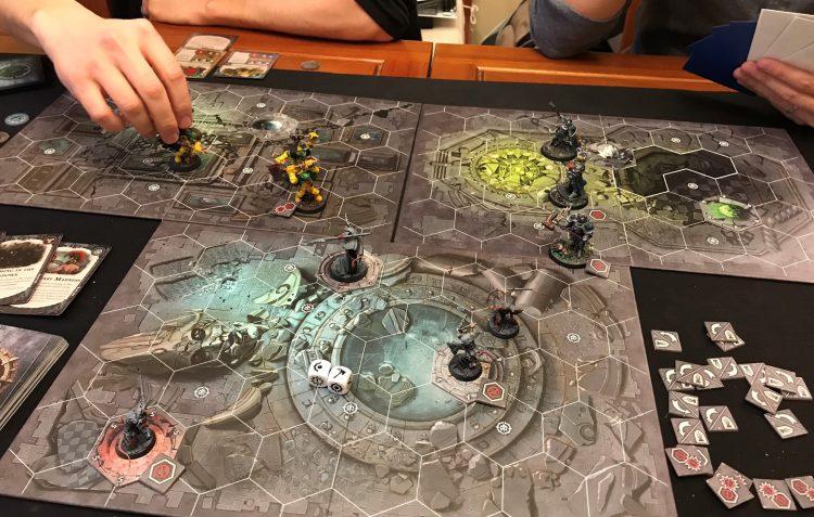 Warhammer Underworld 3p Game