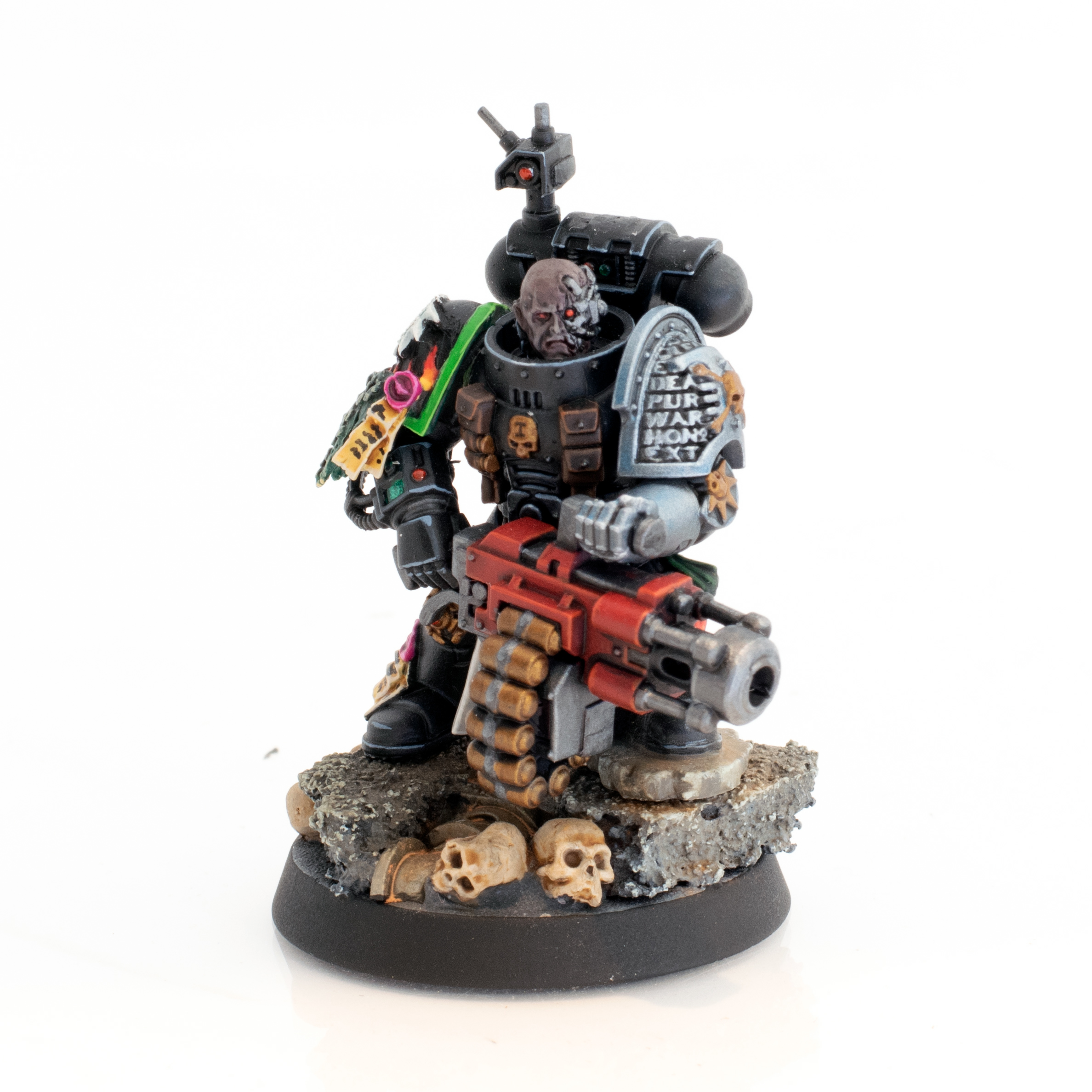 Deathwatch Salamander with Frag Canon