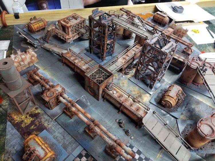 The Narrative Forge: Easy Necromunda Terrain! – Goonhammer