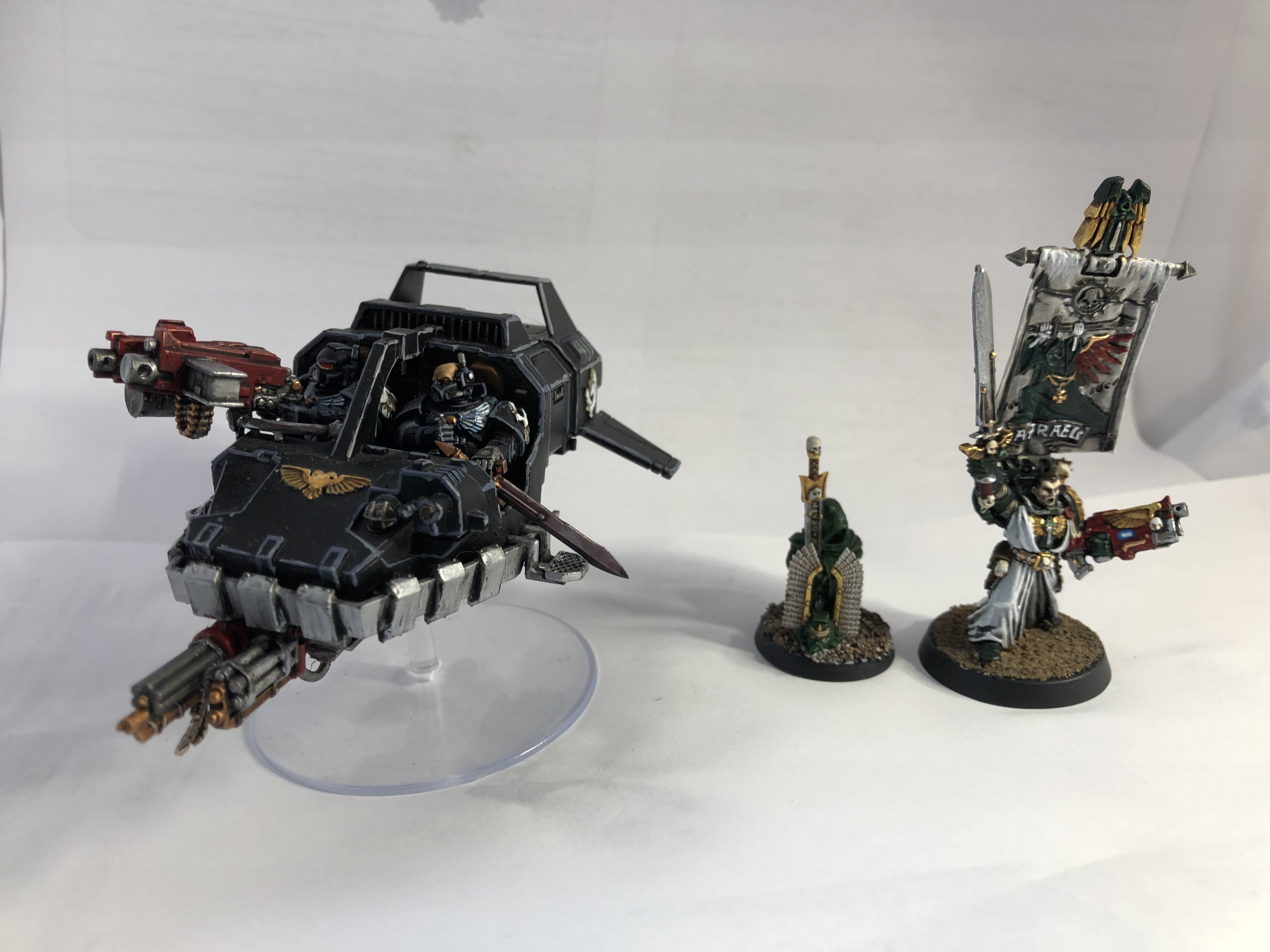 Dark Angels HQs