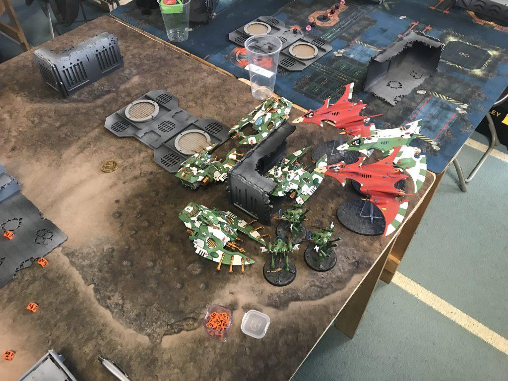 Eldar on Eldar Castle Action pt. 1