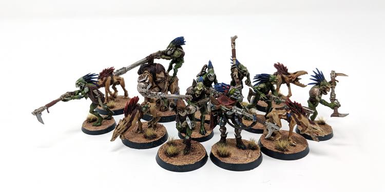 Kroot Kill Team