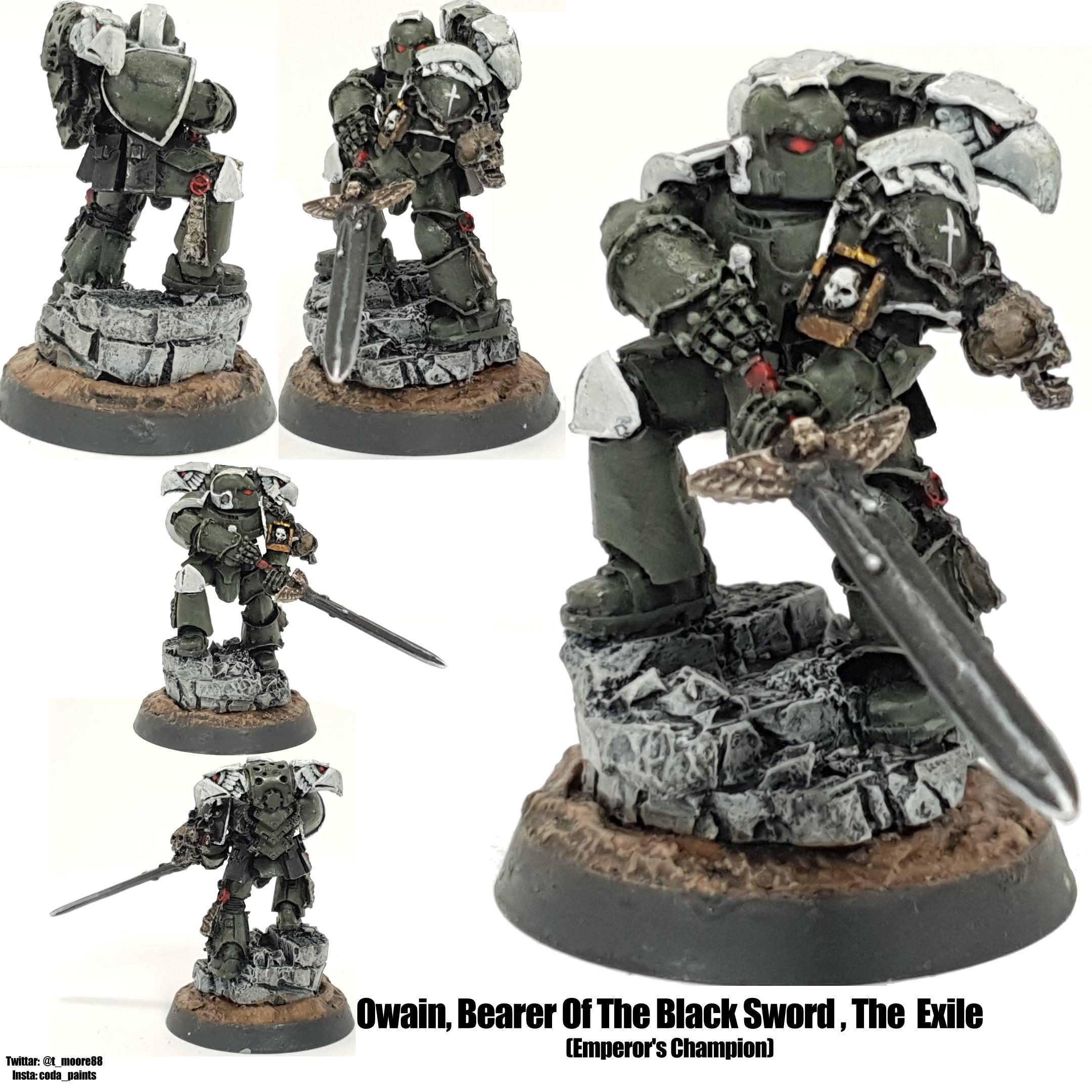 Space Marine Swords of Davion Chapter Champion Emperor's Champion
