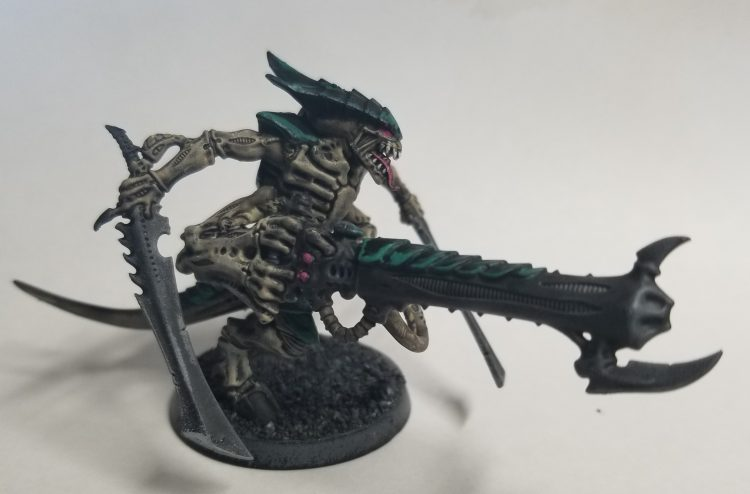 Tyranid Warrior armed with Venom Cannon