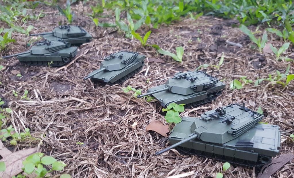 Team Yankee USA M1IP Abrams