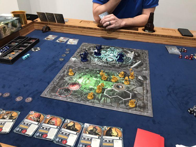 Warhammer Underworld Gitz vs Cursebreakers