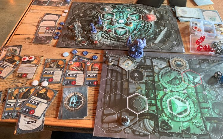 Warhammer Underworlds Mollog vs Gitz