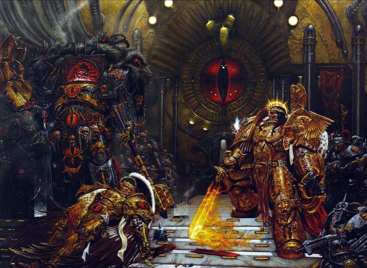 The Emperor vs. Horus