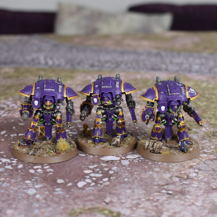 Adeptus Titanicus Questoris Knights