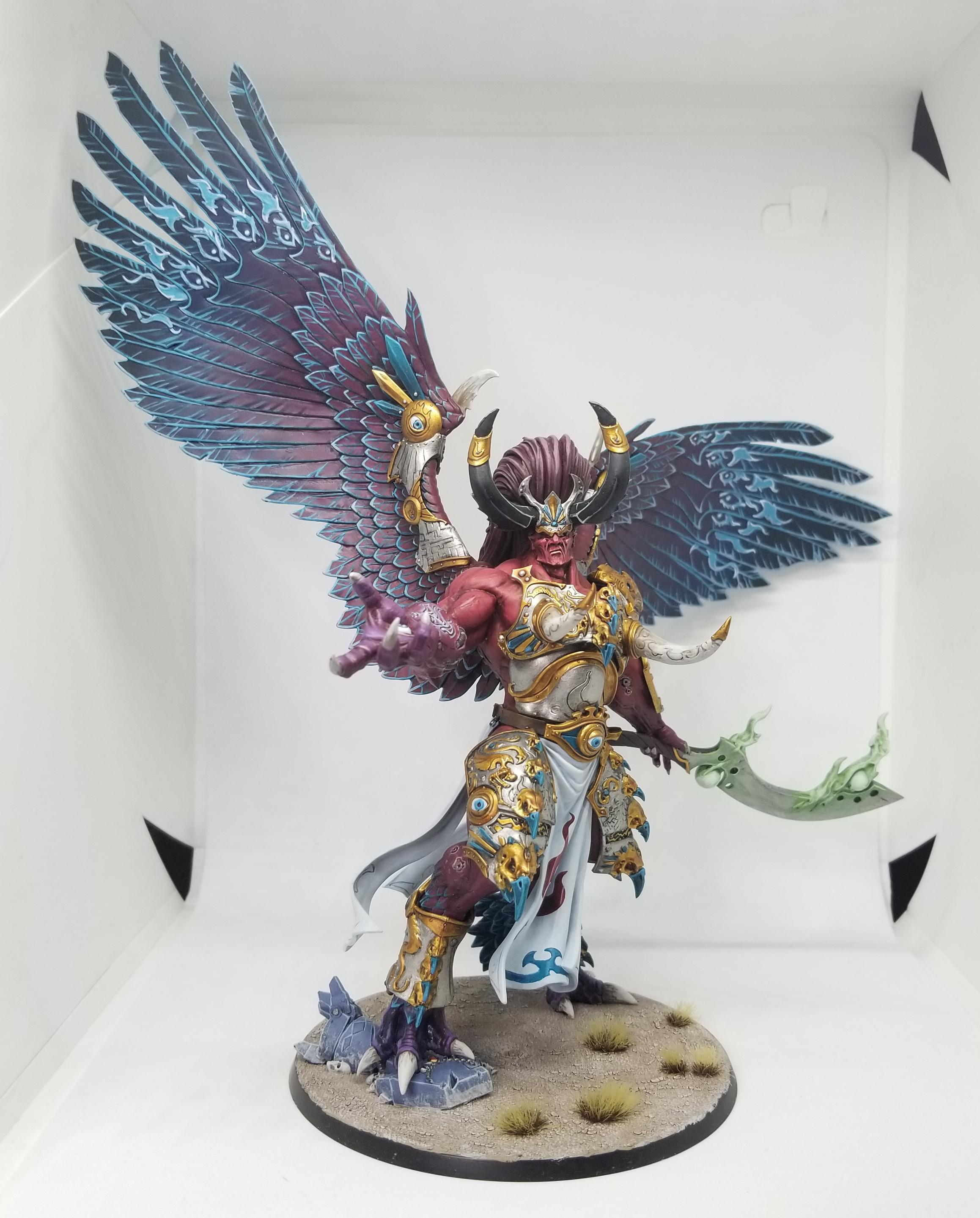 "Magnus the Daemon Prince Credit: Robert ""TheChirurgeon"" Jones"